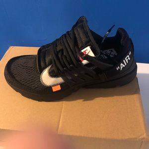 Nike off white prestos size 9.5